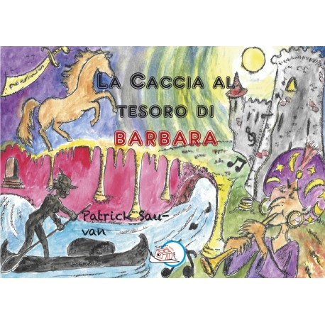 La caccia la tesoro di Barbara* EBOOK ILLUSTRATO